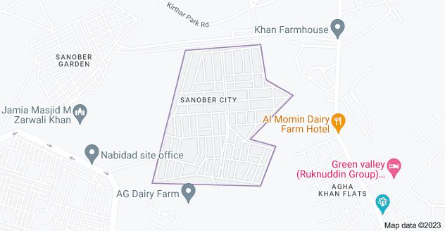 Sanober City Gadap, Karachi